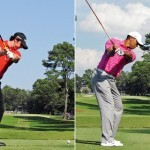 Swing sequence Rory vs Tiger 3