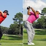 Swing sequence Rory vs Tiger 4
