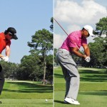 Swing sequence Rory vs Tiger 5