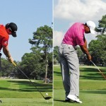 Swing sequence Rory vs Tiger 6