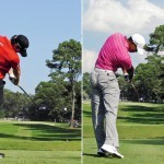 Swing sequence Rory vs Tiger 7