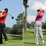 Swing sequence Rory vs Tiger 8