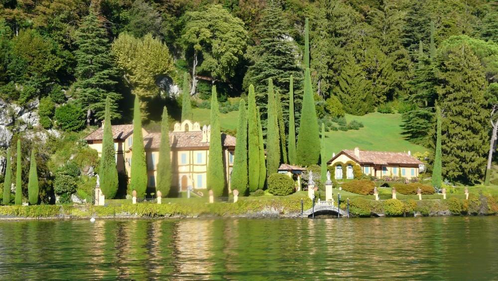 Lac de c me golfez romantique avec george clooney monsieur golf magazine - Maison de georges clooney lac de come ...
