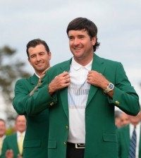 -c- Golf World Bubba Watson Green Jacket 2014