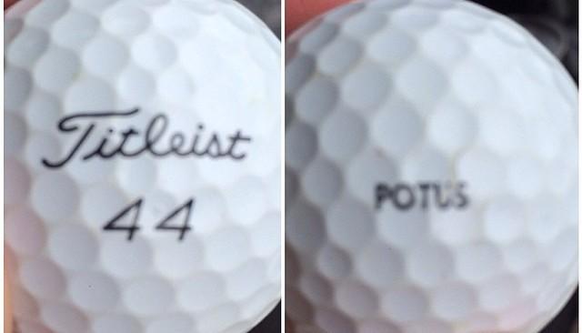 Obama Golf ball