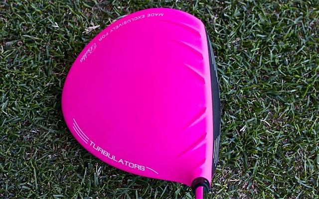 Bubba Watson pink Driver