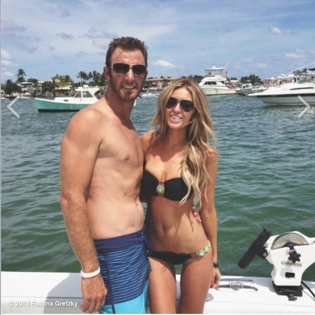 -c- Paulina Gretzky Dustin Johnson