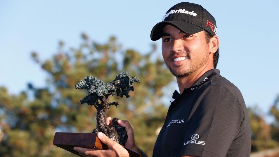 -c- getty Jason Day Torrey Pines trophy