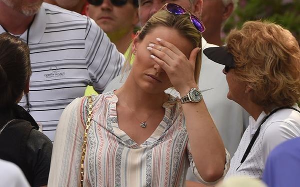 -c- AFP Lindsey Vonn - 1st round Masters