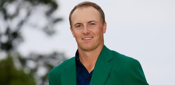 -c- AP Jordan Spieth Green Jacket Masters
