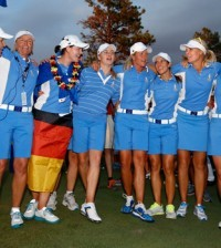 -c- AP Solheim Cup Winning Team 2013