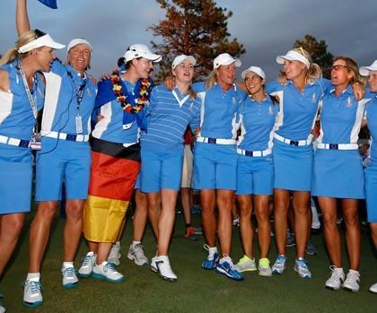 -c- AP Solheim Cup Winning Team 2013