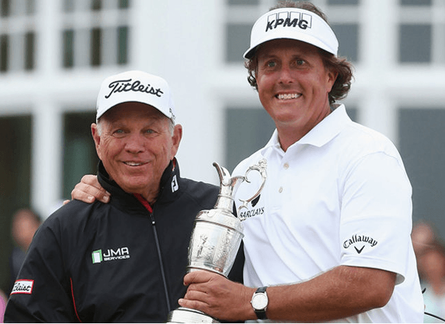 Phil Mickelson Butch Harmon
