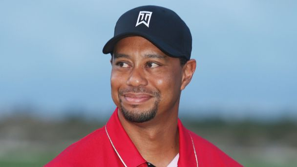 -c- getty Tiger Woods smile