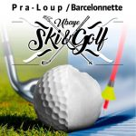 affiche ubaye ski golf