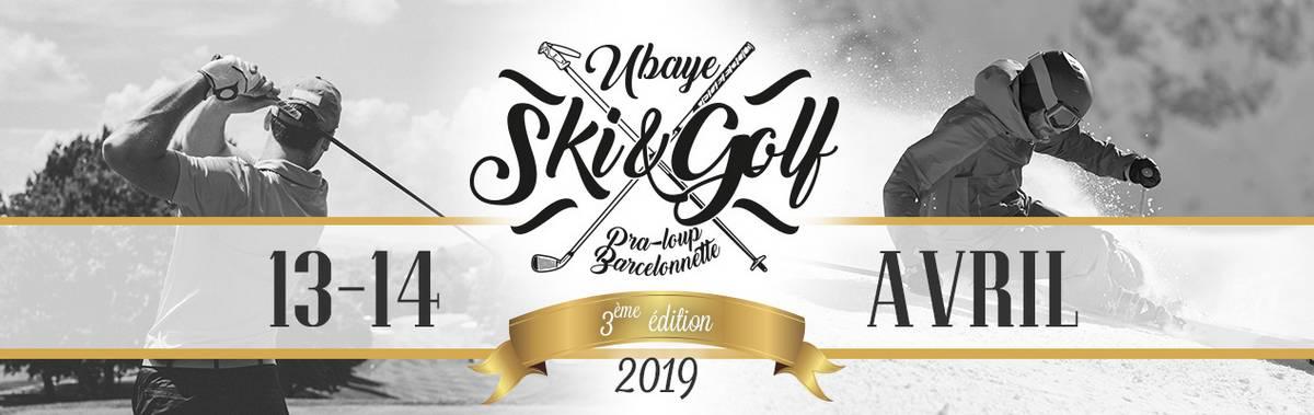 ubaye ski golf 2019