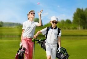 enfants parcours golf