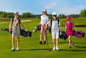 enfants golfeurs