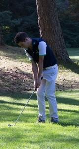 golfeur en été