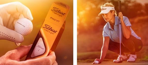 golfeuse balle Titleist Pro V1