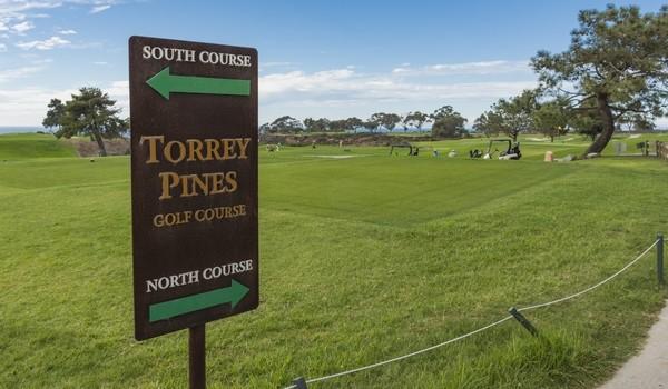 parcours de golf Torrey Pines
